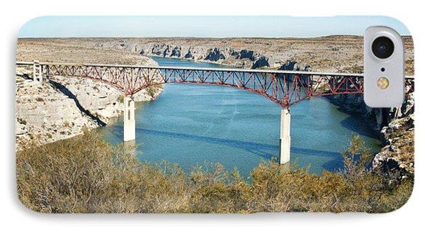 IPhone Case featuring the photograph Pecos Bridge by Erika Weber
