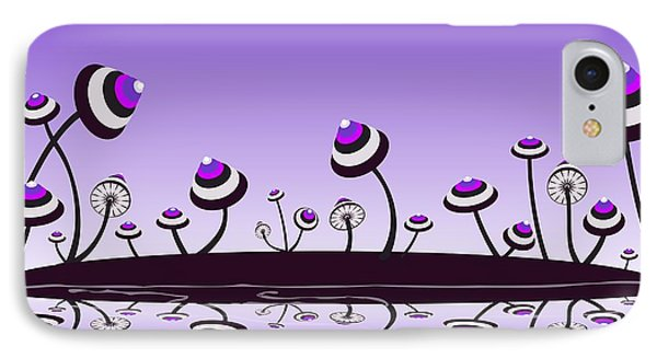 Peculiar Mushrooms Phone Case by Anastasiya Malakhova