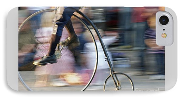 Pedaling Past Phone Case by Ann Horn