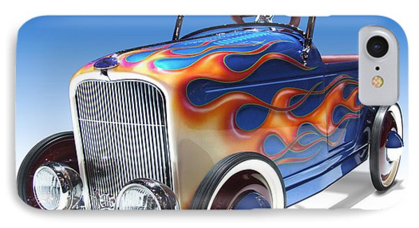 Peddle Car IPhone Case by Mike McGlothlen