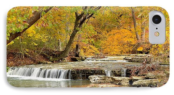 Pedelo Falls IPhone Case by Deena Stoddard