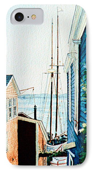 Peek At The Bluenose IPhone Case by Hanne Lore Koehler