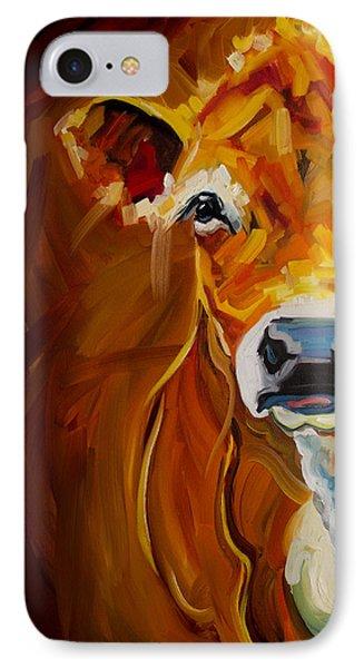 Peek Cow IPhone Case