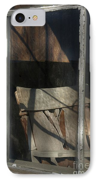 Peek Into The Past Phone Case by Sandra Bronstein
