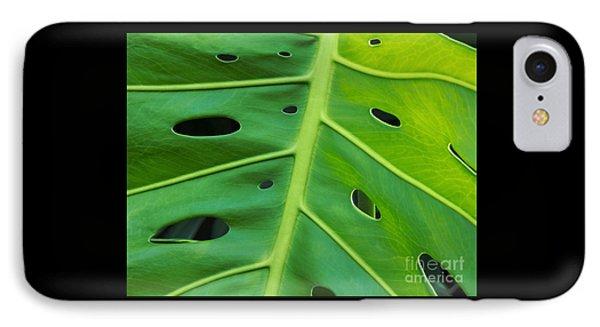 Peekaboo Leaf IPhone Case