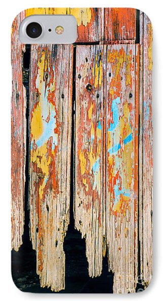 Peeling Door IPhone Case by Carlos Caetano