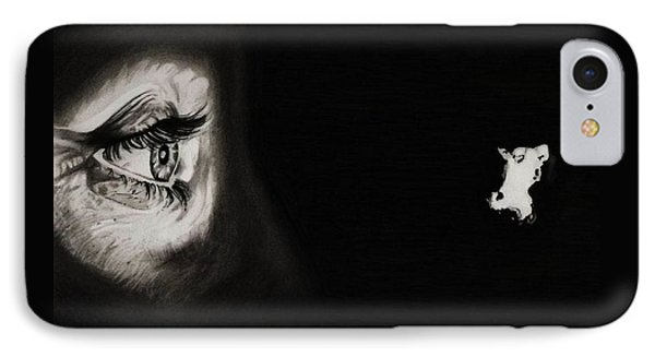 Peeping Tom - Psycho Phone Case by Fred Larucci