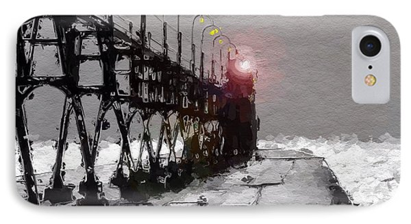 Peer To The Lighthouse IPhone Case by Steve K