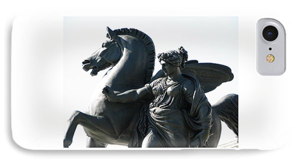 IPhone Case featuring the photograph Pegasus by Christopher Woods