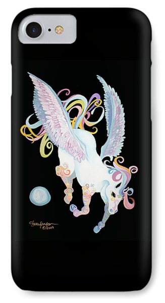 Pegasus IPhone Case by Shelley Overton