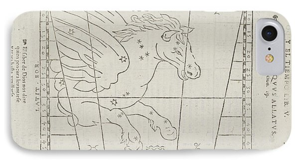 Pegasus Star Constellation IPhone Case by British Library