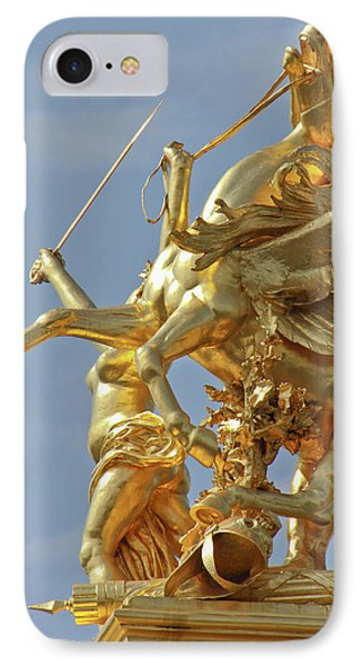 Pegasus Statue At The Pont Alexander IPhone 7 Case