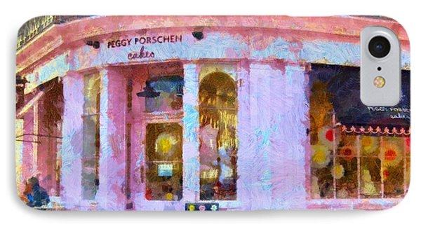 Peggy Porschen Cakes Paris IPhone Case by Elizabeth Coats