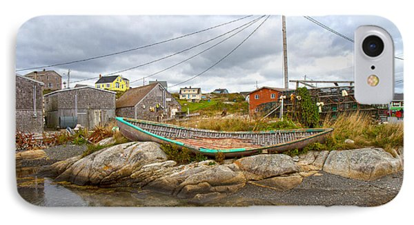 Peggy's Cove 10 Phone Case by Betsy Knapp