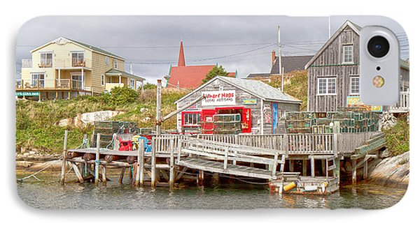 Peggy's Cove 7 Phone Case by Betsy Knapp