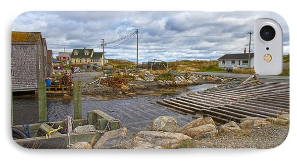 Peggy's Cove 8 Phone Case by Betsy Knapp