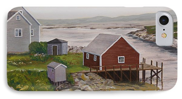 Peggy's Cove IPhone Case by Alan Mager