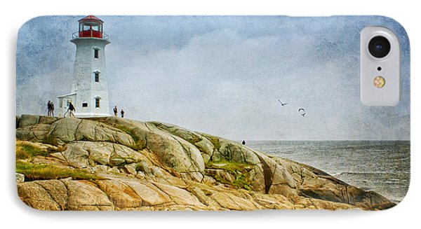 Peggy's Cove Lighthouse - 2 IPhone Case by Nikolyn McDonald