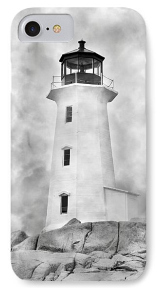 Peggy's Cove Lighthouse IPhone Case by Betsy Knapp