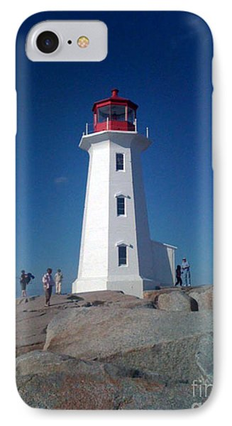 Peggy's Cove Lighthouse IPhone Case by Brenda Brown
