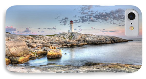 IPhone Case featuring the photograph Peggy's Cove Lighthouse by Shawn Everhart