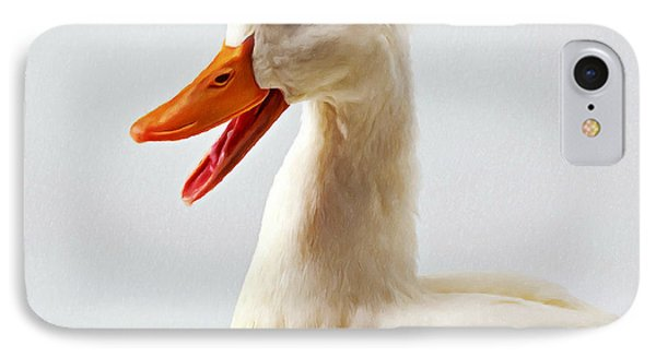 Pekin Ducks 1 IPhone Case by Lanjee Chee
