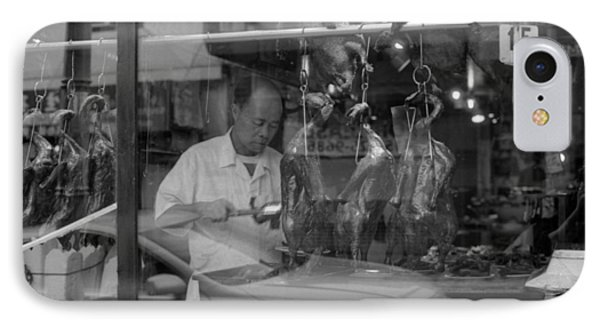 IPhone Case featuring the photograph Peking Duck by Luis Esteves