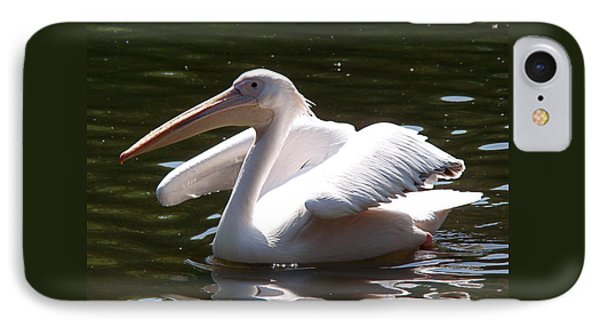 Pelican And Friend IPhone Case by Rona Black