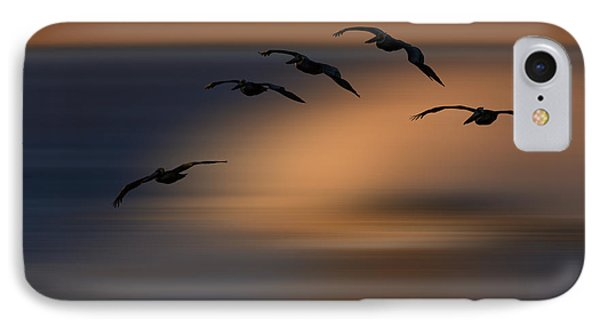 Pelican Blur  73a2324 IPhone Case by David Orias