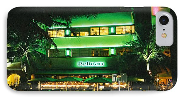 IPhone Case featuring the photograph Pelican Hotel Film Image by Gary Dean Mercer Clark