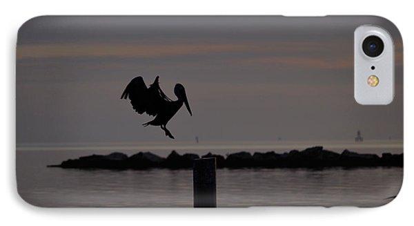 Pelican Landing IPhone Case by Leticia Latocki