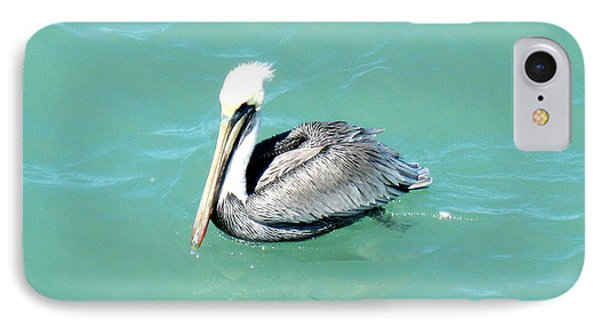 IPhone Case featuring the photograph Pelican by Oksana Semenchenko
