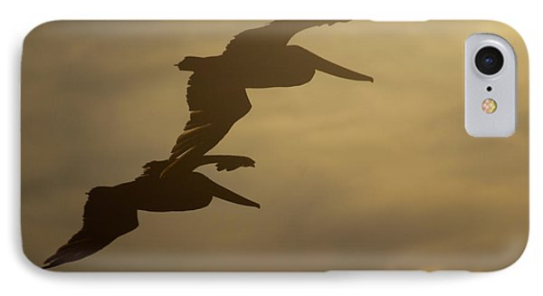 IPhone Case featuring the photograph Pelican Pair by Erin Kohlenberg