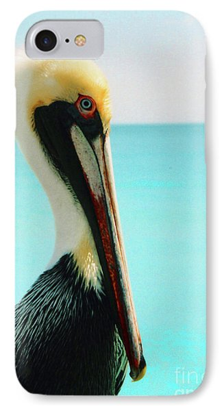 Pelican Profile And Water IPhone Case