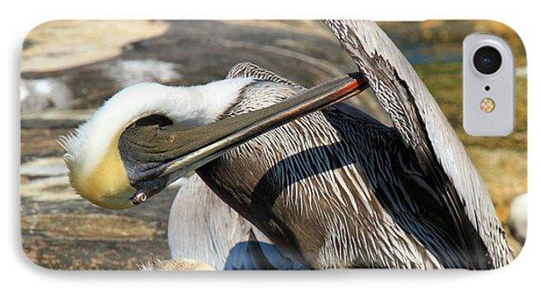 Pelican Scratch Phone Case by Adam Jewell