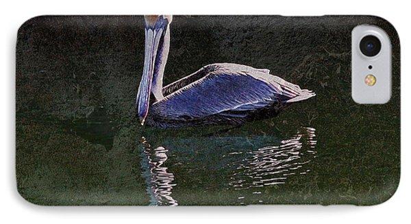 Pelican Zen IPhone Case by Suzanne Stout
