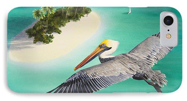 Pelicans Perspective IPhone Case