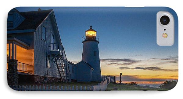 Pemaquid Dawn IPhone Case by Scott Thorp