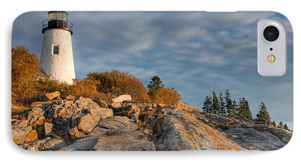 Pemaquid Point Light Vi Phone Case by Clarence Holmes