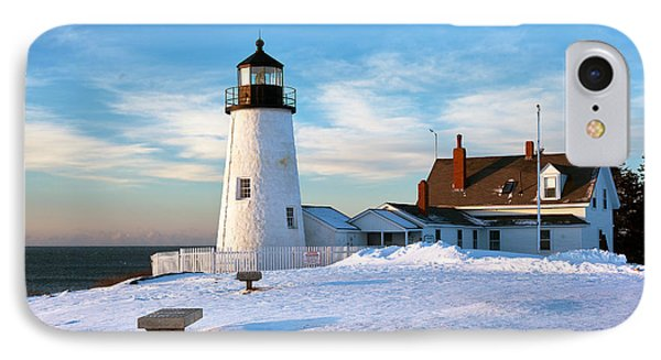 Pemaquid Point Lighthouse IPhone Case by Eric Gendron