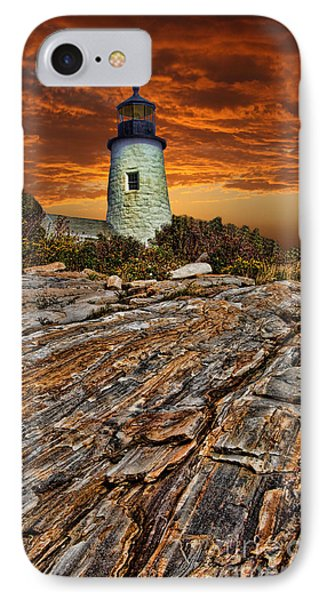 IPhone Case featuring the photograph Pemaquid Point Lighthouse by Shirley Mangini