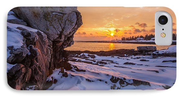 Pemaquid Point IPhone Case by Susan Cole Kelly