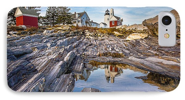 Pemaquid Reflection IPhone Case by Robert Clifford