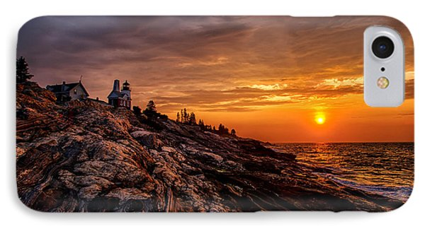 Pemaquid Sunrise  Phone Case by Jerry Fornarotto