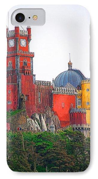 Pena Castle IPhone Case by Dennis Cox WorldViews