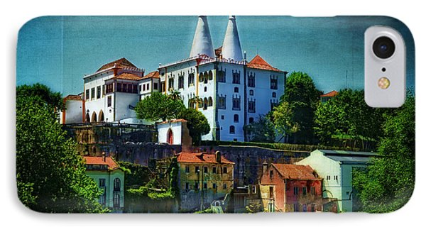 Pena National Palace - Sintra IPhone Case by Mary Machare