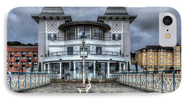 Penarth Pier Pavilion 2 IPhone Case by Steve Purnell