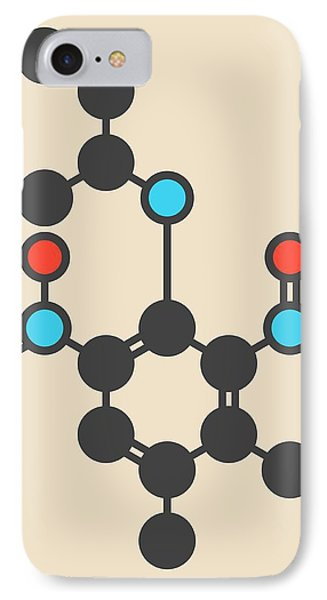 Pendimethalin Herbicide Molecule IPhone Case by Molekuul