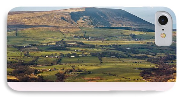 IPhone Case featuring the photograph Pendle Hill Lancashire England by Jane McIlroy