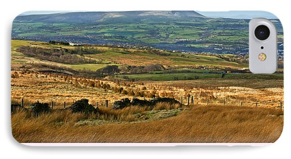 IPhone Case featuring the photograph Pendle Hill Lancashire by Jane McIlroy